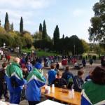 25il gruppo marciatori in supporto alle gare è pronto per gli ultimi arrivi